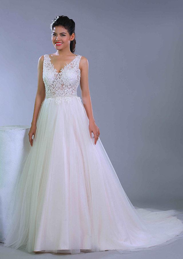 may váy cưới đẹp nhất tại sài gòn Asoen Bridal